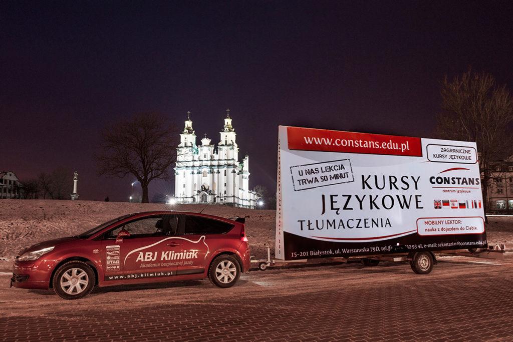 Reklama Mobilna - Białystok - ABJ