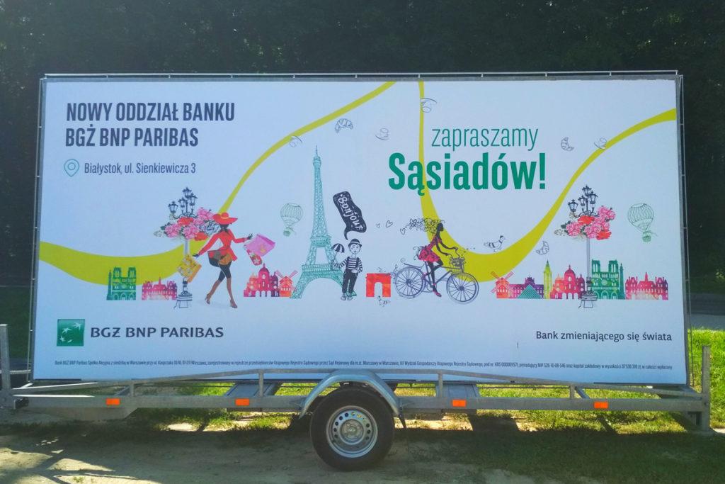 Reklama Mobilna - Białystok - BGŻ