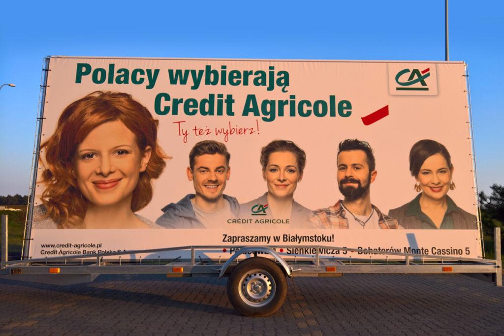 Reklama Mobilna - Białystok - Kredyty