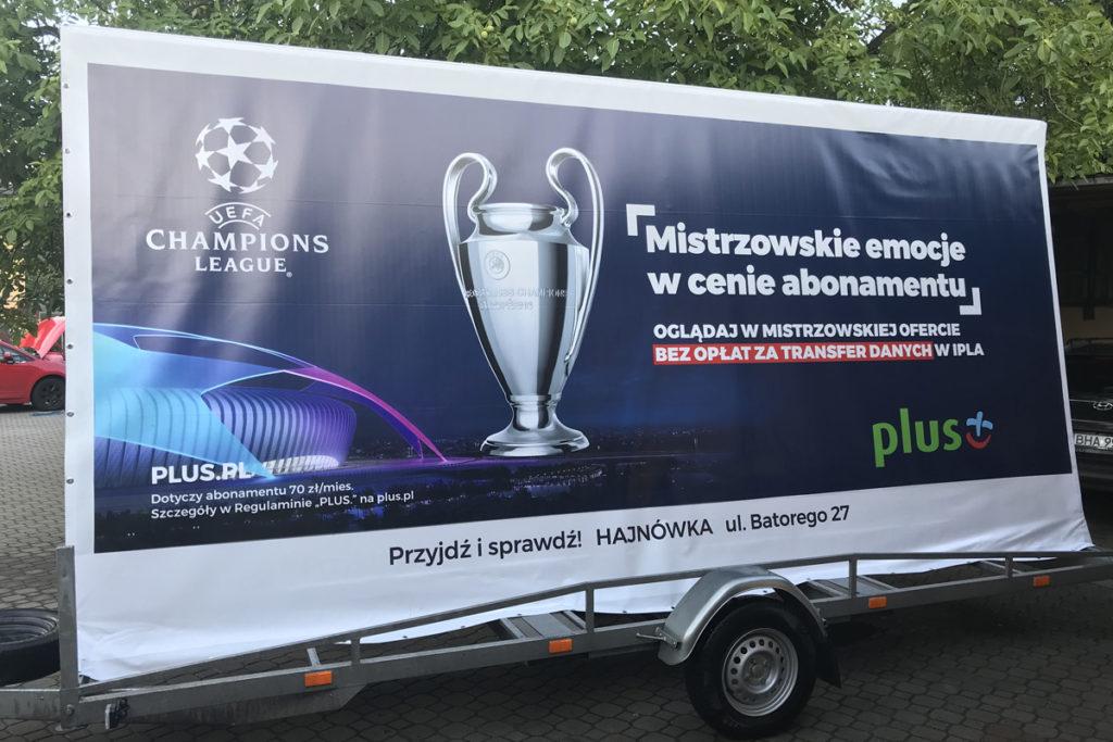 Reklama Mobilna - Białystok - Plus GSM