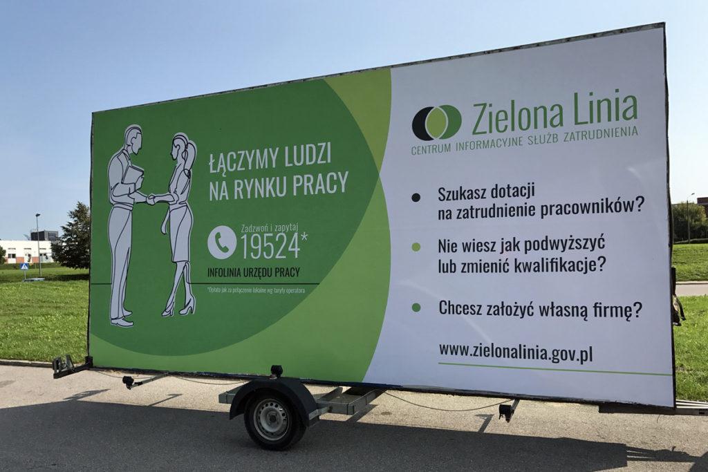 Reklama Mobilna - Białystok - Zielona Linia